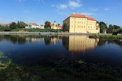 Chateau i Podebrady Fotografering för Bildbyråer