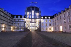 Chateau i Saarbrucken Royaltyfri Foto