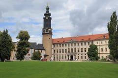 Chateau i Weimar Fotografering för Bildbyråer