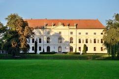 Chateau i Zidlochovice Fotografering för Bildbyråer