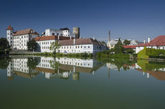 Chateau in Jindrichuv Hradec, Czech Republic Stock Photography