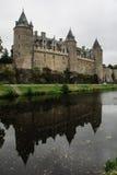 Chateau of Josselin Stock Photo