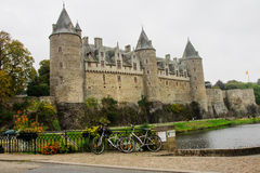 Chateau of Josselin Royalty Free Stock Images