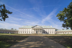 Chateau Kacina. Empire chateau Kacina in the central Bohemia, Czech republic Stock Image