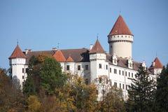 Chateau Konopiste fotografia stock