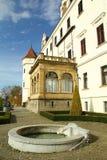 Chateau Konopiste in autumn day, Czech republic Royalty Free Stock Photo