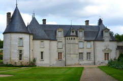 Chateau La Chatonniere near Villandry Stock Image