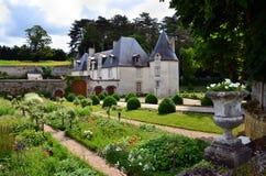 Chateau La Chatonniere near Villandry Stock Photos