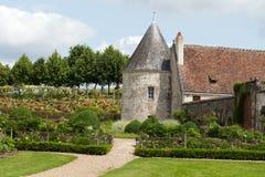 Chateau La Chatonniere near Villandry Stock Photo