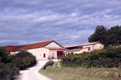 Chateau la Dorgonne winery in Provence, France Stock Images