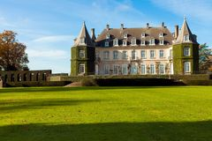chateau la hulpe Stock Images