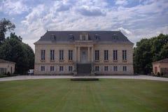 Chateau la Louviere. Wine tour around Bordeaux region royalty free stock image
