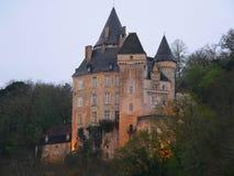 Chateau La Roque, Meyrals (France ) Stock Photo
