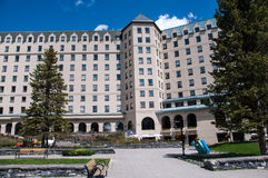 Chateau Lake Louise Royaltyfria Bilder