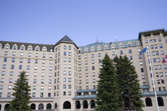 Chateau lake louise Royalty Free Stock Photos