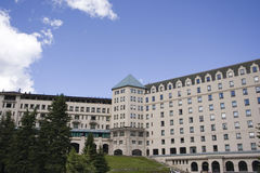 Chateau lake louise Royalty Free Stock Photo