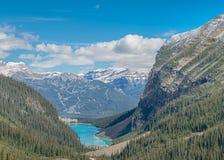 Chateau Lake Louise, Banff Nationalpark Stockfoto