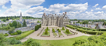 Chateau Langeais Royalty Free Stock Photo