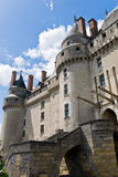 Chateau Langeais Entrance Stock Image