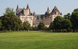Chateau Laurier Stock Images