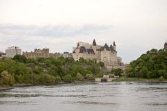 Chateau Laurier Hotel Ottawa Stock Foto