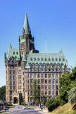The Chateau Laurier Hotel in Ottawa Stock Photo