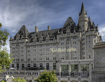 The Chateau Laurier Hotel in Ottawa, Canada Stock Images