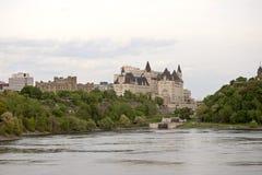 Chateau Laurier Hotel Ottawa Stock Photo