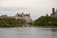 Chateau Laurier Hotel Ottawa Royalty Free Stock Image