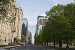 Chateau Laurier Hotel Ottawa Stock Photography