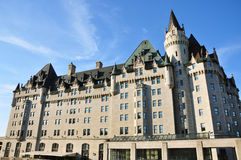 Chateau Laurier in Ottawa Stock Image