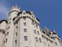 Chateau Laurier in Ottawa fotografia stock