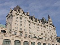 Chateau Laurier in Ottawa Royalty-vrije Stock Foto's