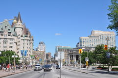 Chateau Laurier in Ottawa. Canada royalty free stock image
