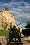 Chateau Laurier and Ottawa Locks royalty free stock images