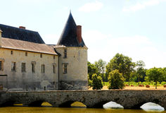 Chateau Le Plessis Bourre Royalty Free Stock Photography