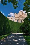 Chateau Lednice. Lednice castle is a part of Lednicko-valtický area, natural complex reaching almost 300km2 Stock Image