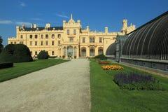 Chateau Lednice Stock Images