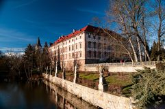 Chateau Libochovice Royalty Free Stock Photography