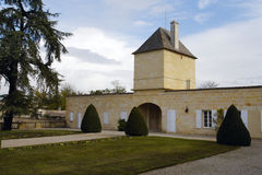 Chateau Magnol, Bordeaux, France Royalty Free Stock Photos