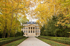 Chateau Margaux, Bordeaux, France Stock Images