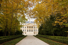 Chateau Margaux in Bordeaux, Francia Fotografia Stock