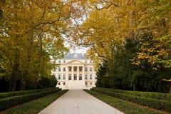 Chateau Margaux in Bordeaux, Frankrijk stock fotografie