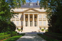 Chateau Margaux, medoc, bordeaux, france royalty free stock photos