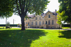 Chateau MAUCAILLOU in Bordeaux region of France. Royalty Free Stock Images