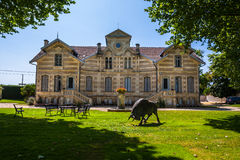 Chateau MAUCAILLOU in Bordeaux region of France. Stock Photography
