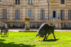 Chateau MAUCAILLOU in Bordeaux region of France. Royalty Free Stock Photos