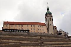 Chateau Melnik stock image