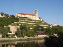 Chateau in Melnik stock afbeeldingen