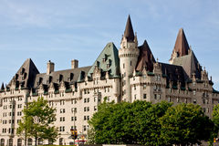 chateau mer laurier ottawa Royaltyfri Bild